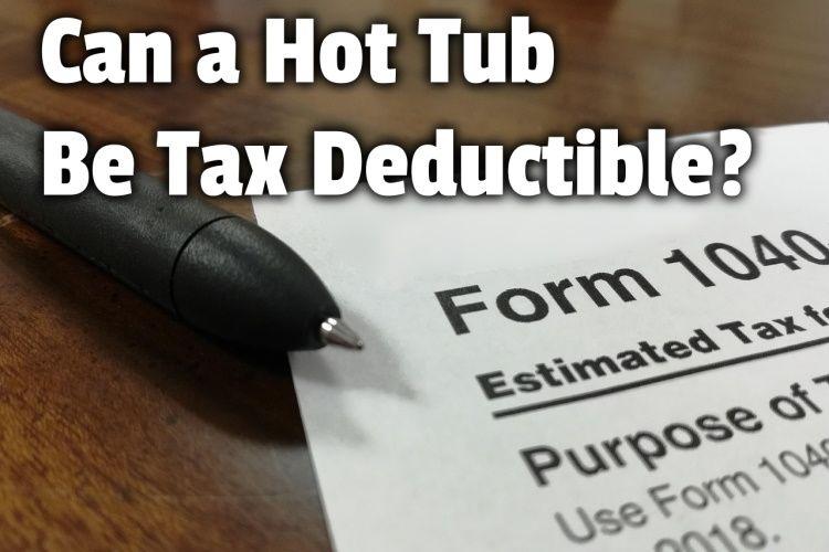 hot tub tax deductible lg